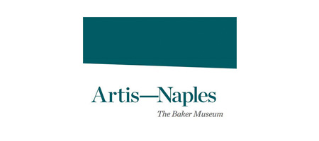 Text that reads Artist-Naples The Baker Museum