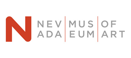 Text Nevada Museum of Art on white background