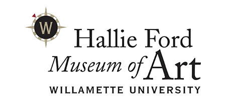Logo and Text: Hallie Ford Museum of Art Willamette University