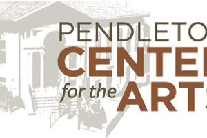 Logo and Text: Pendlet Center for the Arts